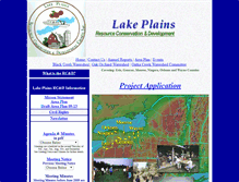 Tablet Preview of lakeplainsrcd.org